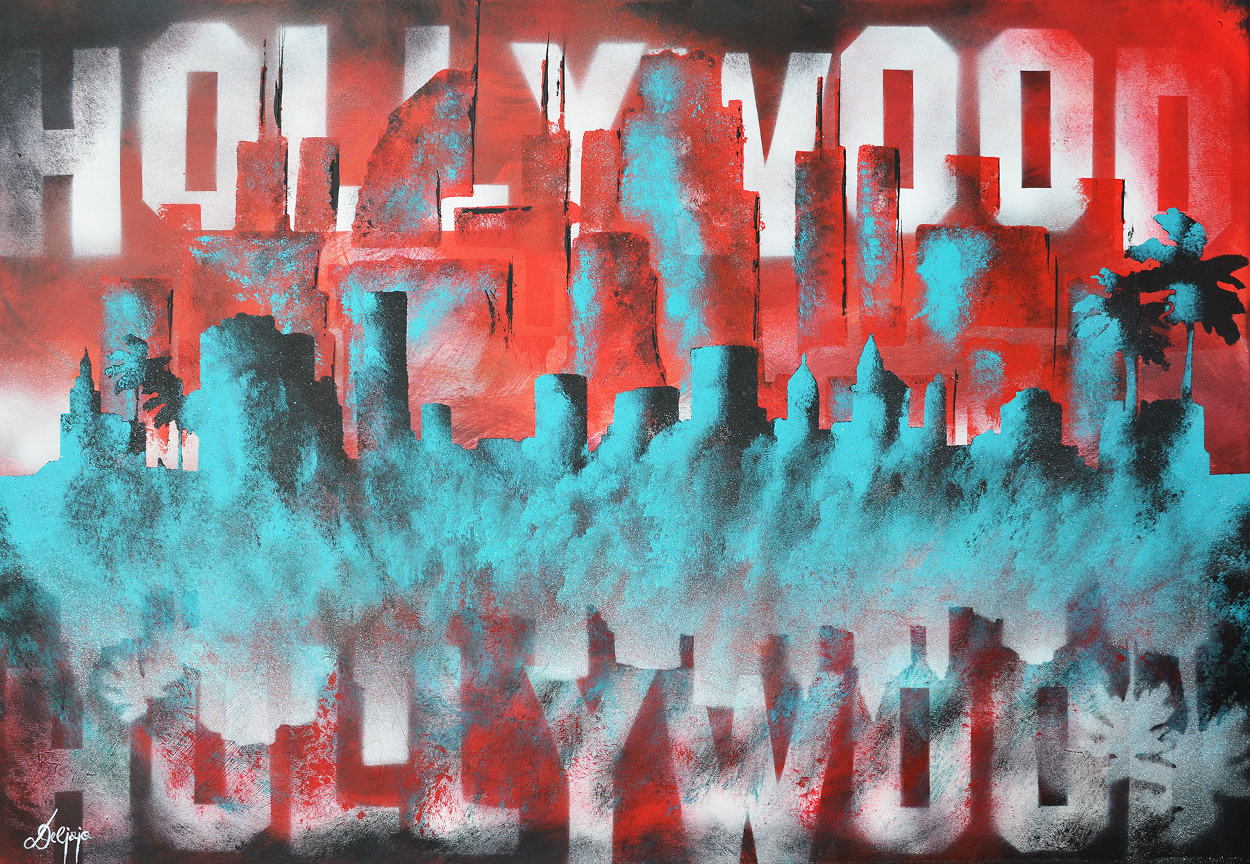 "Acrylbild ""Hollywood"""